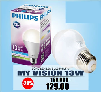 Đèn led Philips 9W